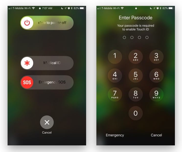 Cops Knocking on Your Door? iOS 11 'Emergency SOS' Feature Quickly Disable's Touch ID