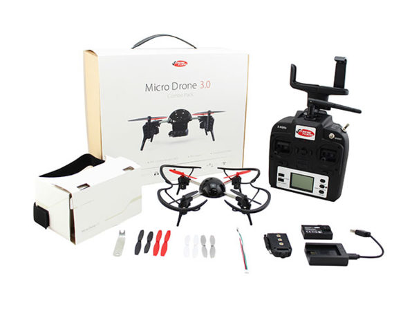 MacTrast Deals: Micro Drone 3.0 Combo Pack This Customizable Drone Was Designed for 3D VR Flight