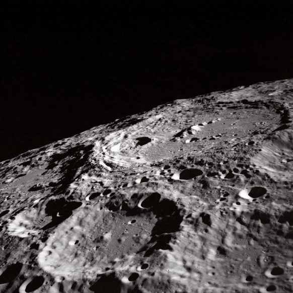 Wallpaper Weekends: NASA - The Moon's Surface - for iPad, iPhone, and Apple Watch