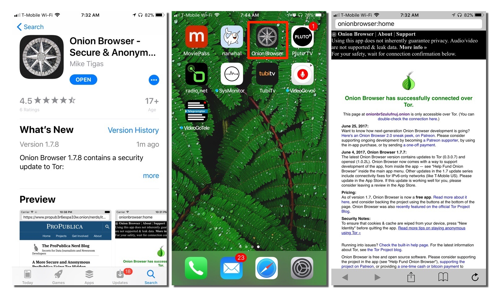 How to Use the Tor Network on Your iOS Device