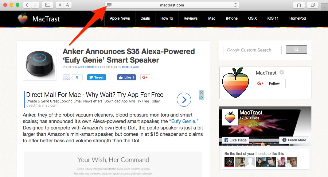 How to Print a Safari Webpage Without Ads on Your Mac
