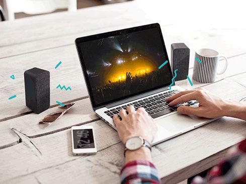MacTrast Deals: Sharkk Twins Bluetooth Speaker Set