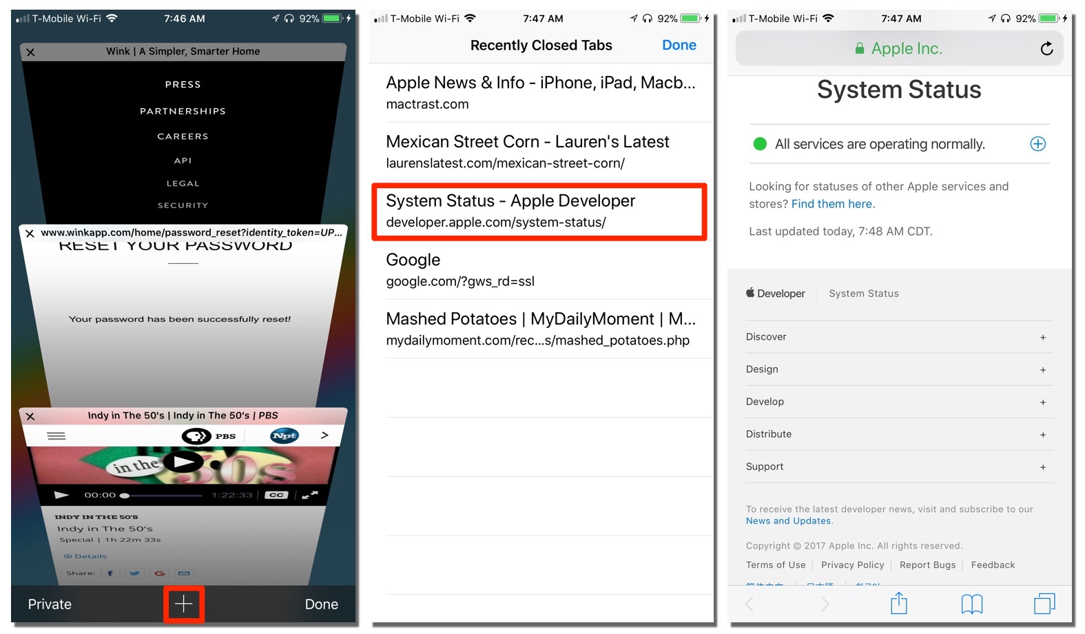 How to Recover Closed Tabs in the Safari Browser on iOS