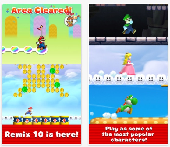 'Biggest Update Ever' of Super Mario Run Hits the App Store a Day Early