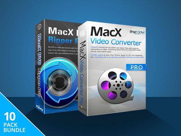 MacTrast Deals: The MacX Media Conversion Lifetime License Bundle