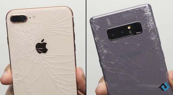Video Shows How Well the iPhone 8's Glass Back Stands up to Punishment