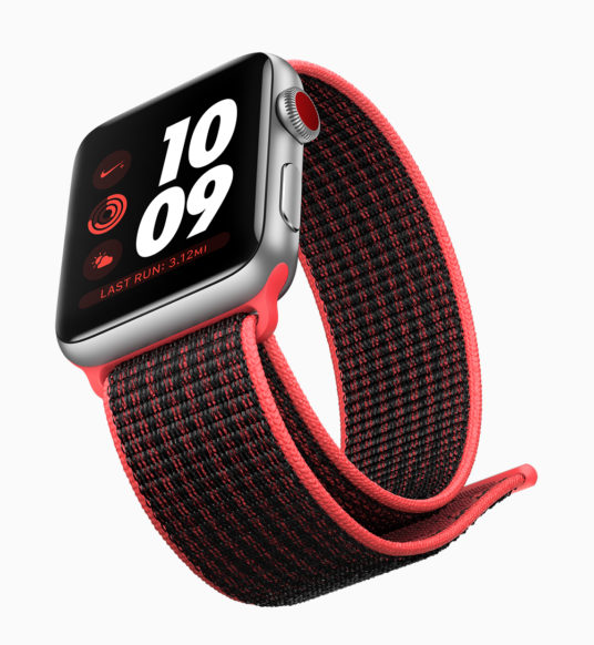 Apple Watch Series 3 Offers Built-In LTE, Faster Processor, Streaming Apple Music