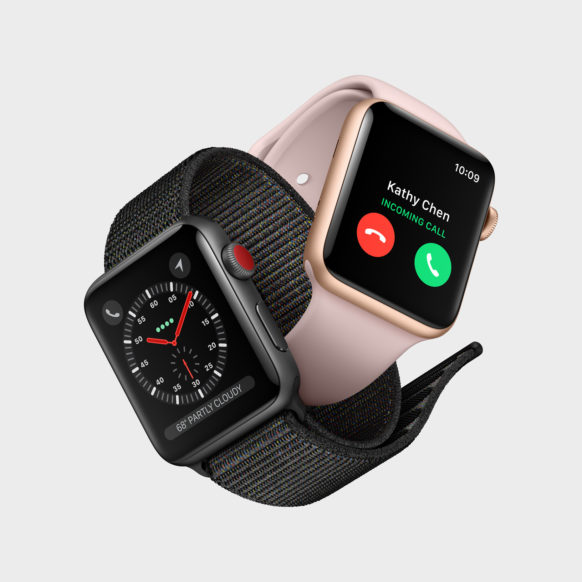 U.S. Wireless Carriers to Charge $10/Month for Apple Watch Series 3 Data Plans