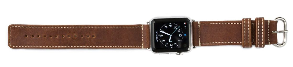 Pad & Quill Debuts Full Grain American Leather Heritage Apple Watch Band