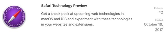 Safari Technology Preview 42 for Mac Release Offers Bug Fixes and Feature Enhancements