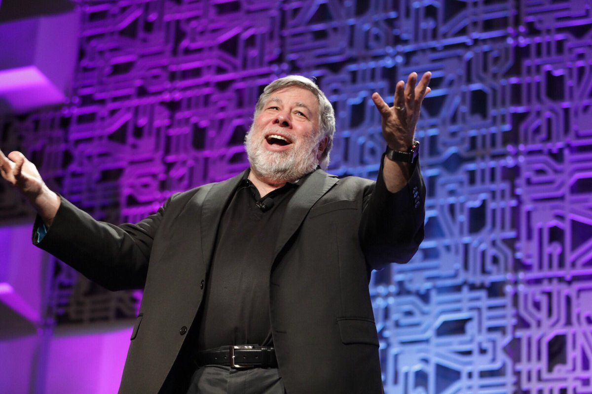 Apple Co-Founder Steve Wozniak to Get 'Involved' in Blockchain Project