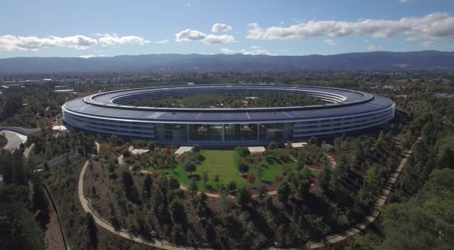 Apple Park Drone Tour Video Shows Finishing Touches Being Applied