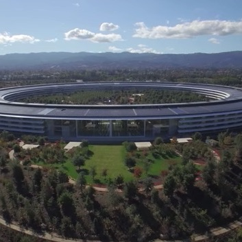 Apple Park Drone Video Shows Finishing Touches Being Applied
