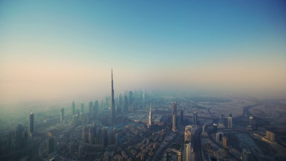 Dubai in the morning