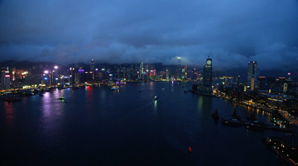 hongkong apple TV screensaver