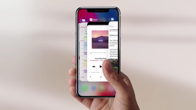 Apple's New iPhone X Guided Tour Video Acquaints Users With New Features and Gestures