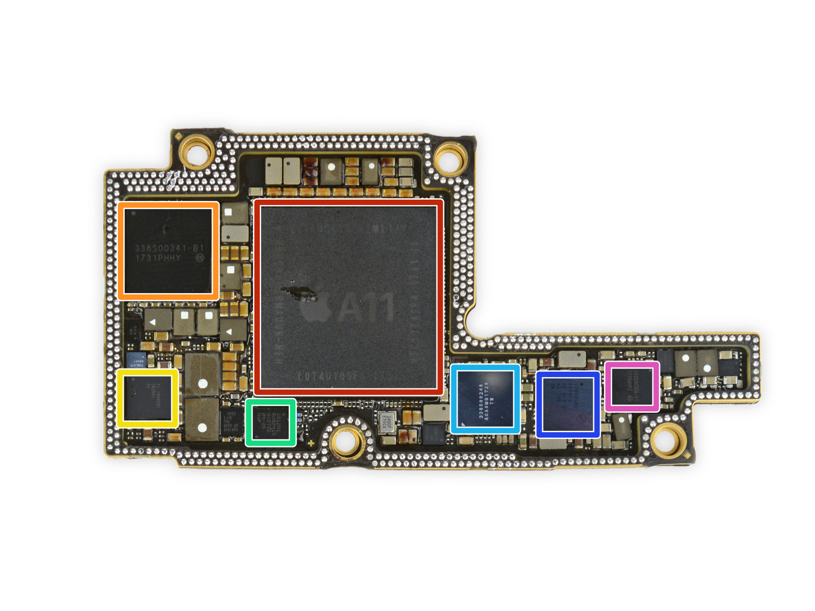 iFixit iPhone X Teardown Providers Look at TrueDepth Camera System, Stacked Logic Board, More