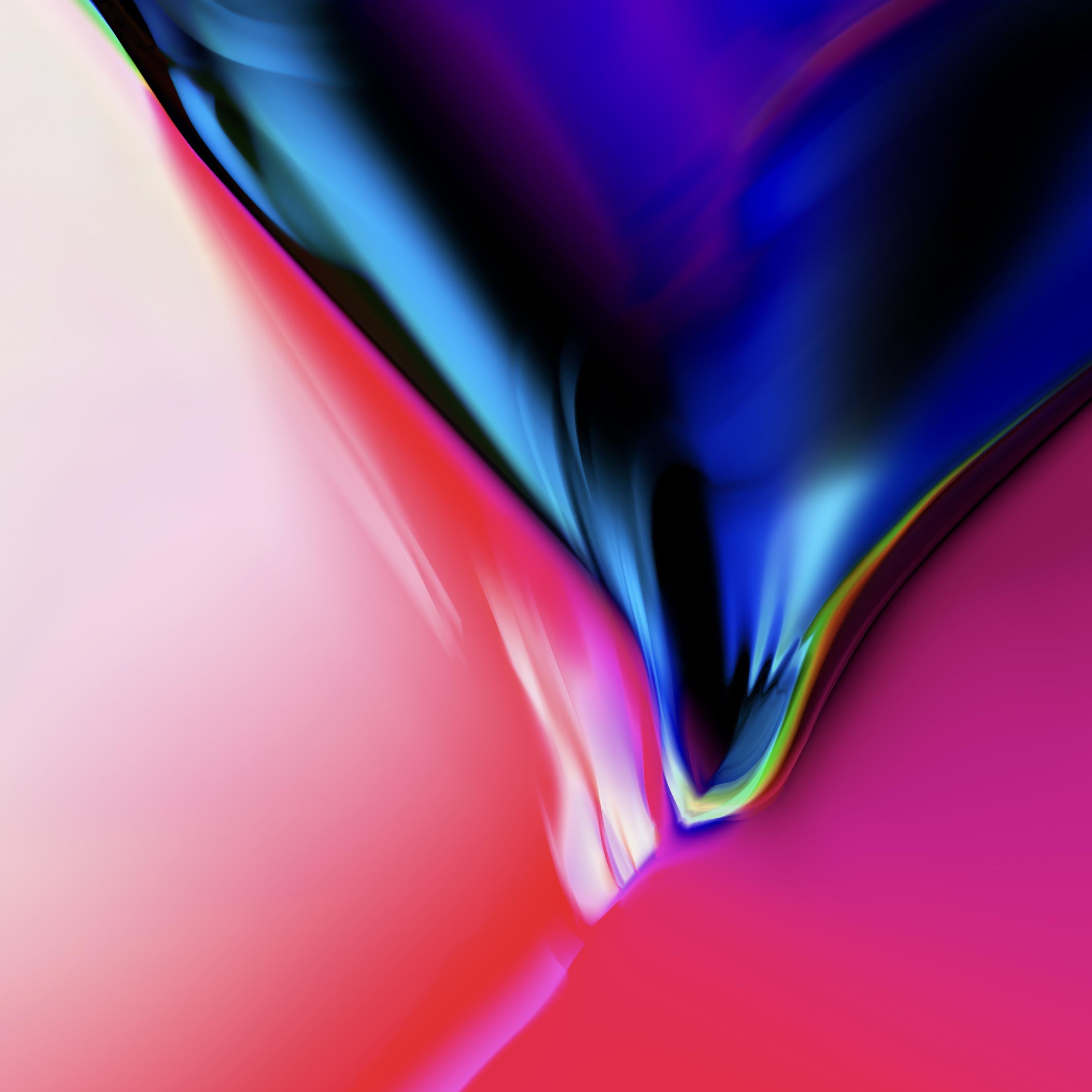 Wonderful Wallpaper Mac Blue - iphone_8_aura_black_granite_mactrast  Trends_988176.jpg