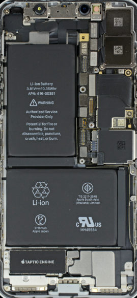 iFixit's iPhone X 'X-Rays' Wallpapers Allow Users a Unique View of Their Device