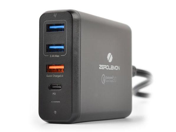 MacTrast Deals: ZeroLemon 75W Desktop Charger with Quick Charge 3.0