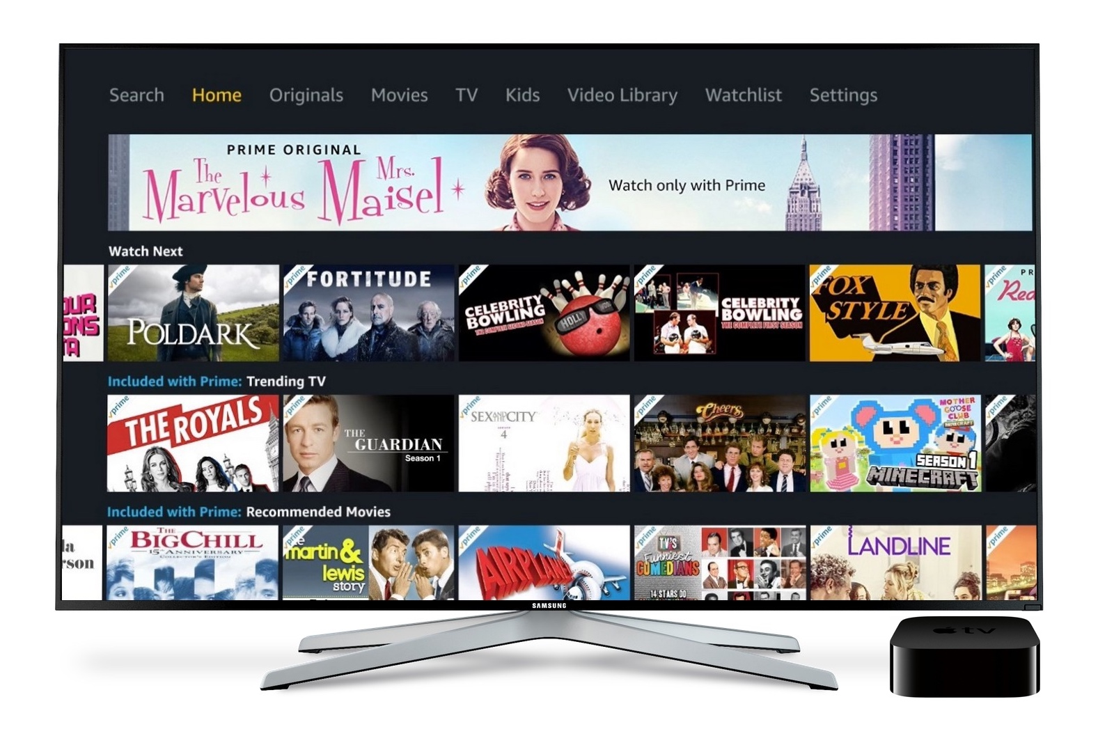 Amazon Prime Video (Finally) Arrives on the Apple TV, iOS Version Gets an Update for iPhone X