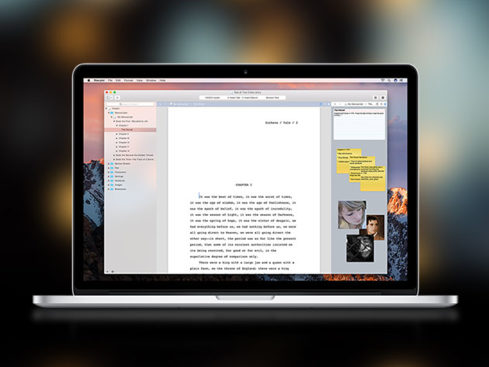 MacTrast Deals: Storyist for Mac -Write Your Manifesto Anywhere With This Mobile Friendly Writing App