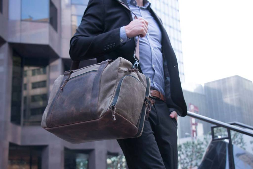 WaterField Designs Debuts Atlas Executive Athletic Holdall Briefcase/Workout Hybrid Bag