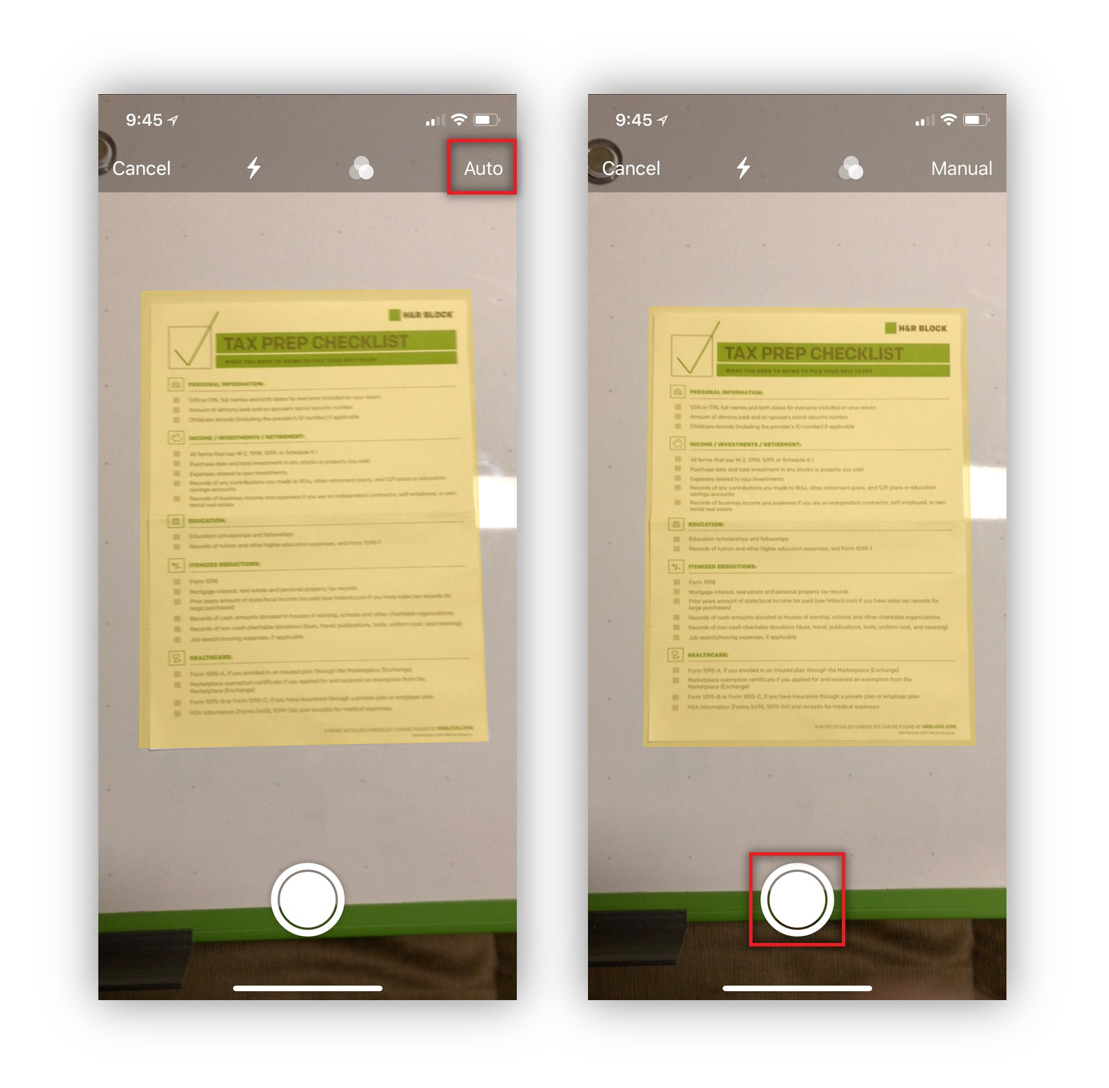 How To Scan A Document Using Notes on iOS