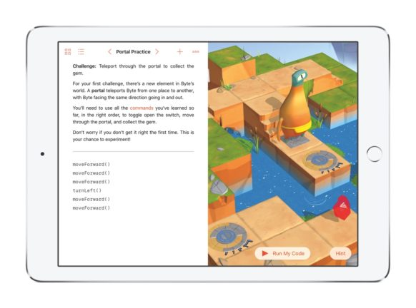 Apple Updates Swift Playgrounds for iPad – Offers Improved Access to Third-Party Content, More