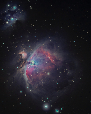 Wallpaper Weekends: Stargazing – The Orion Nebula for Mac, iPad, iPhone, and Apple Watch