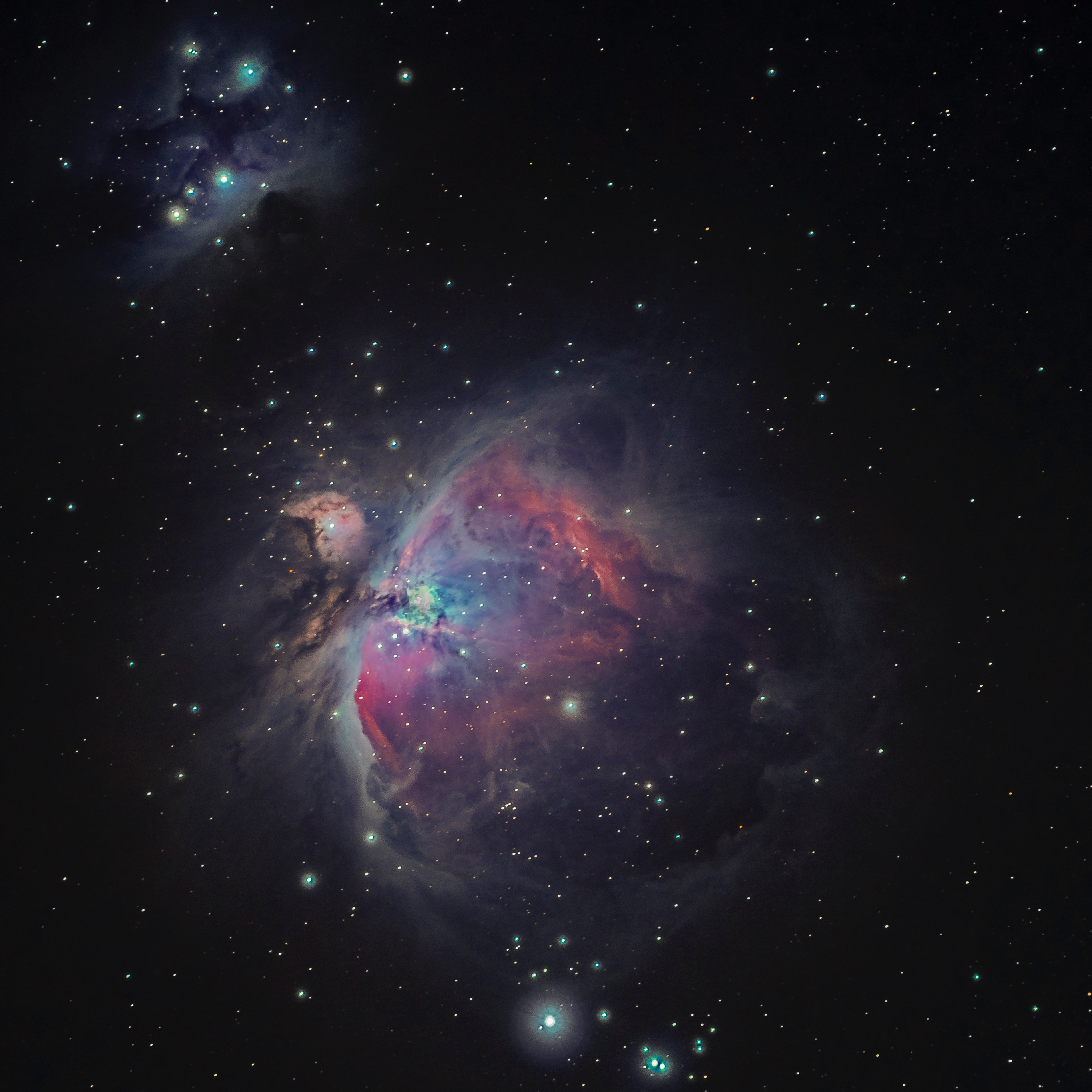 Wallpaper Weekends: Stargazing - Orion Nebula for Mac, iPad, iPhone, and Apple Watch