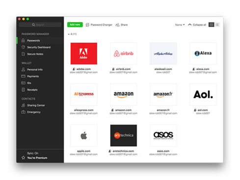 MacTrast Deals: Dashlane Password Manager: Premium Subscriptions