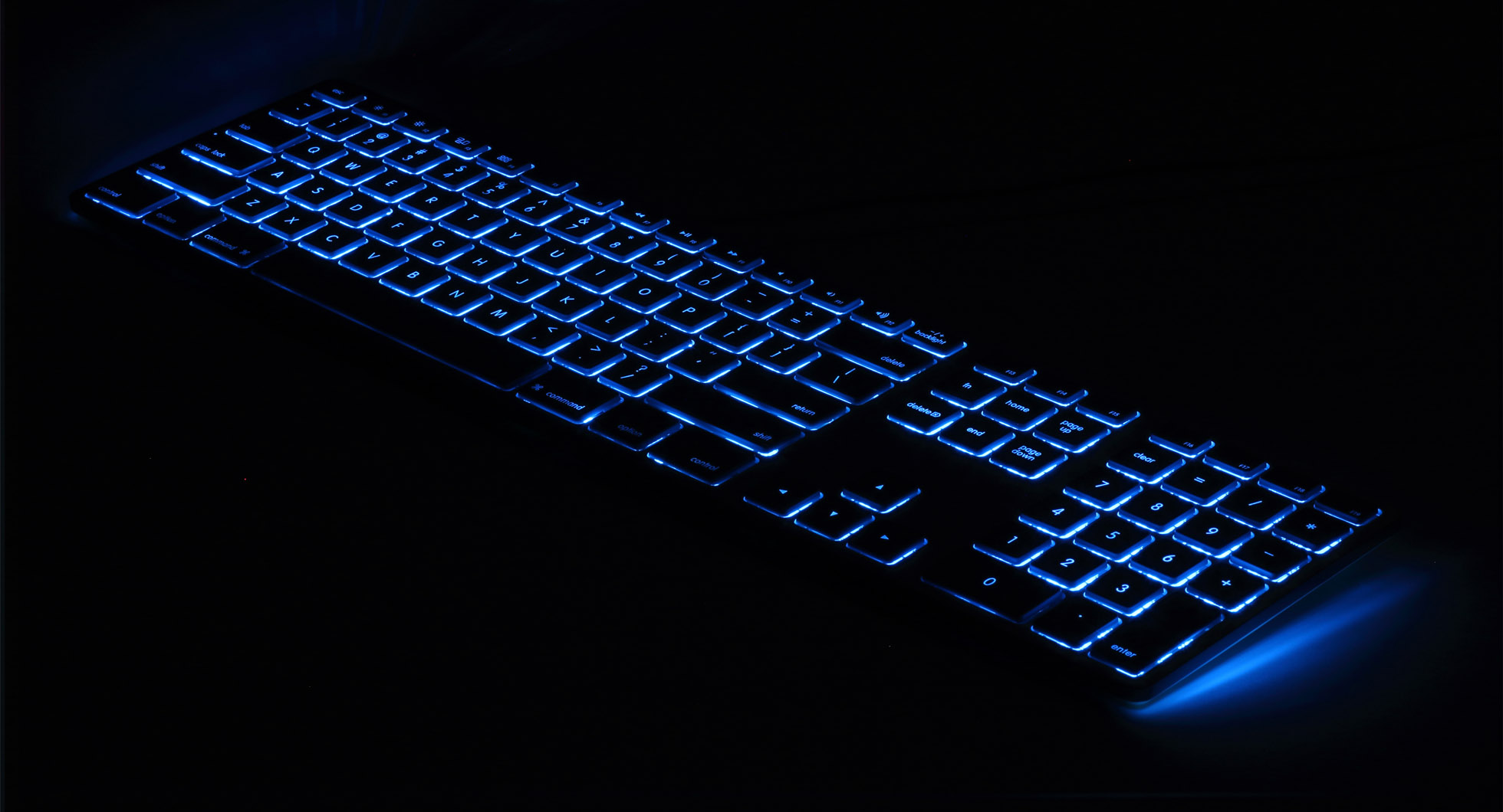 Matias Announces RGB-Backlit Version of Wired Aluminum Keyboard for Mac