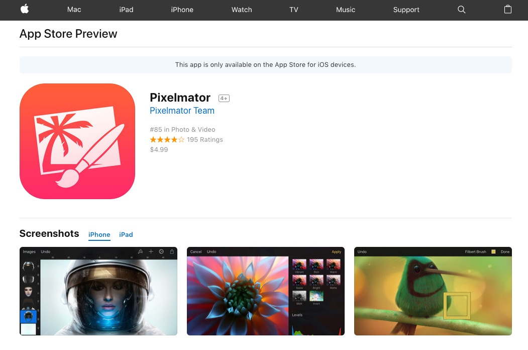 Apple Redesigns iOS App Store Web Pages With iOS 11 Look and Feel