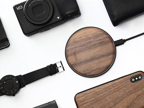 MacTrast Deals: Takiso Walnut Qi Charger
