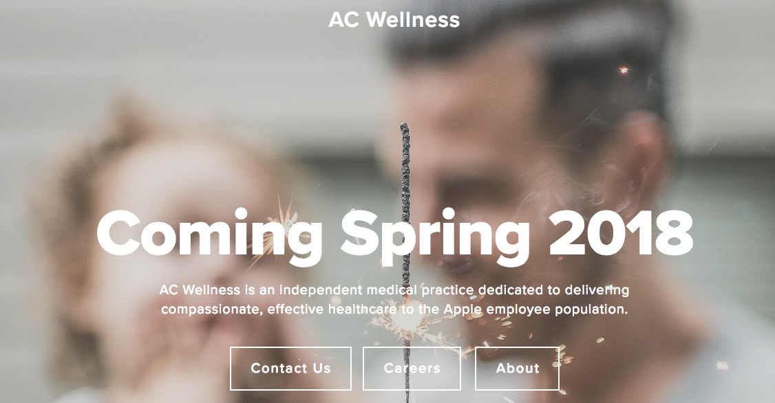 Apple Launching 'AC Wellness' Medical Clinic for Employees