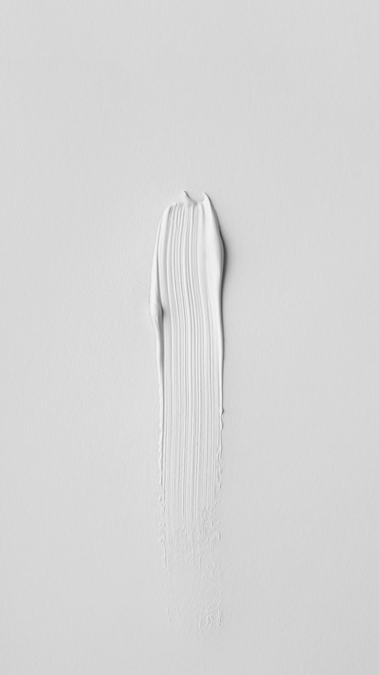 white iPhone wallpaper - brush