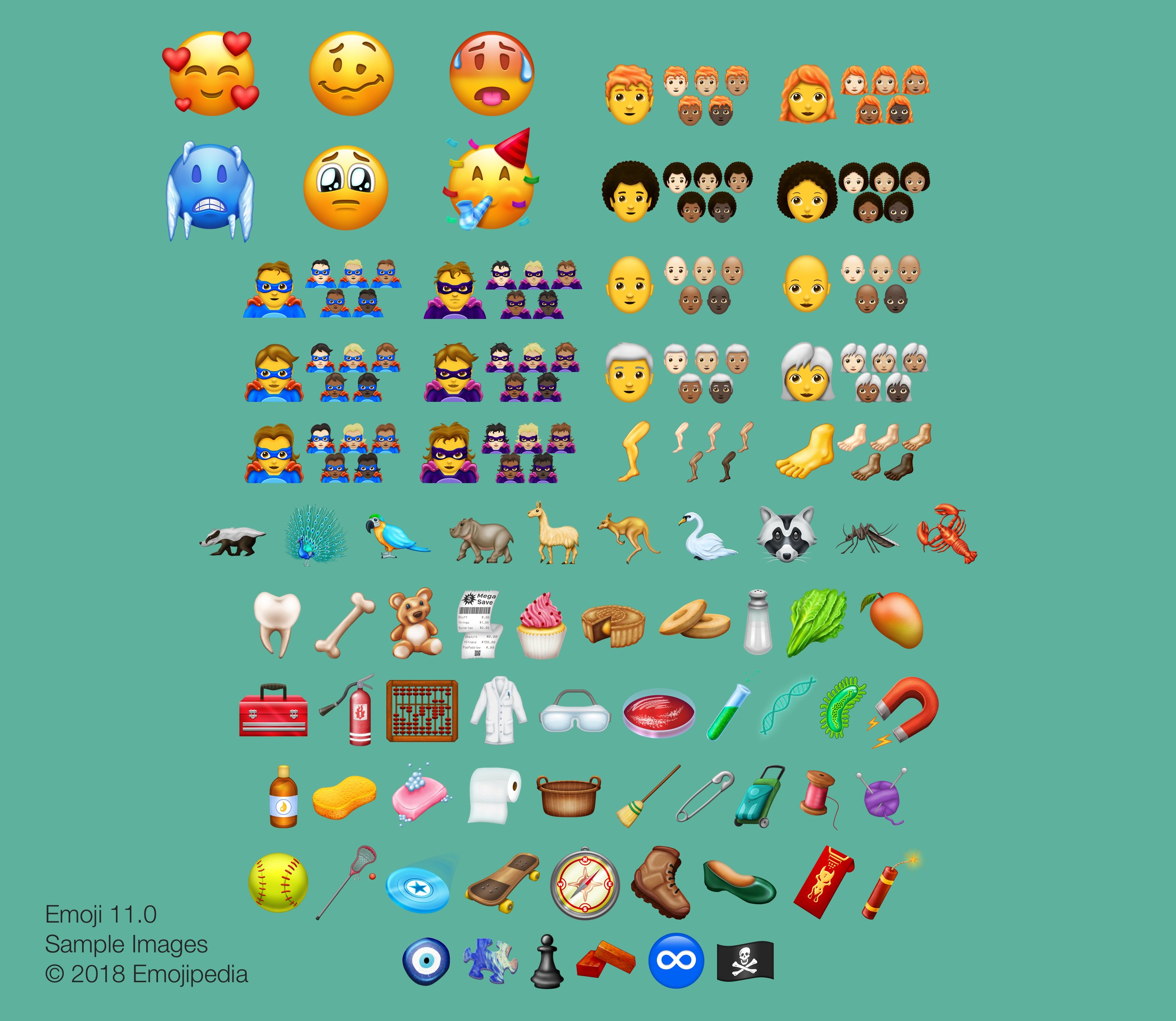 Superheroes and Villains Are on Their Way to iOS via 157 New Emoji in Unicode 11