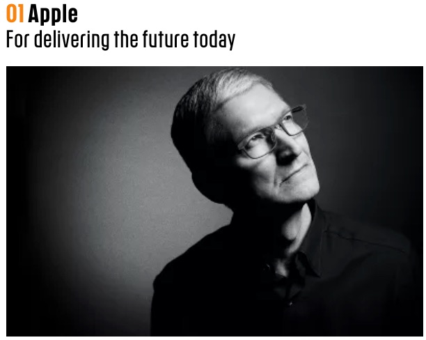 Fast Company Names Apple 'Most Innovative Company' for 2018