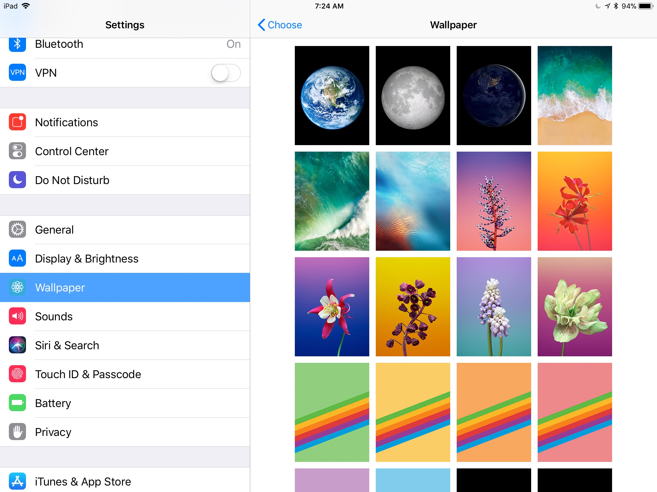 How To Change Your iPad Wallpaper