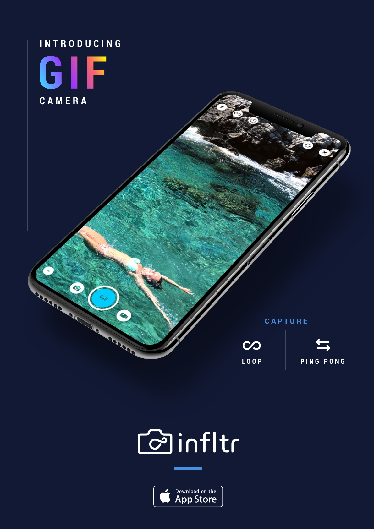 infltr Update Brings GIF Shooting Mode, New Editing Tools, More