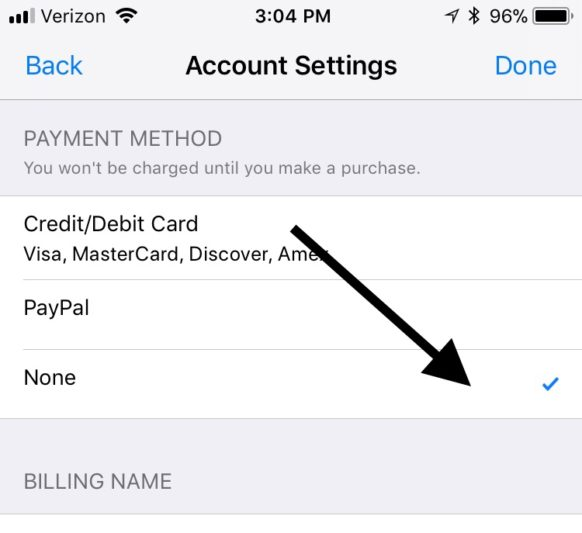 remove_credit_card_itunes_iphone_4