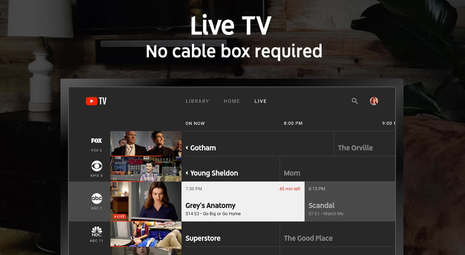 YouTube TV App Makes its Belated Appearance on the Apple TV