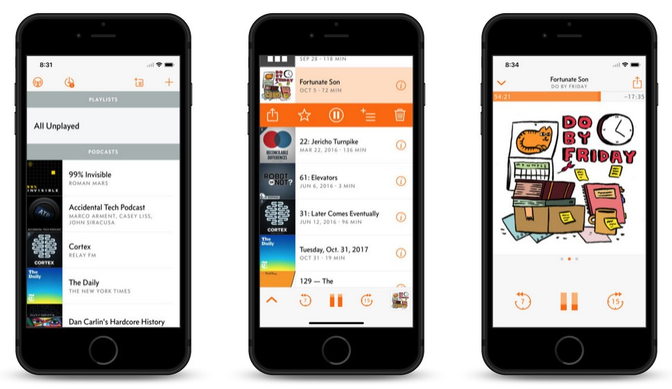 'Overcast' Podcast App for iOS Adds New 'Smart Resume' Feature, 24-Hour Auto-Delete, More