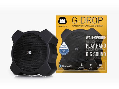 MacTrast Deals: G-DROP Adventure Ready Submersible Bluetooth Speaker