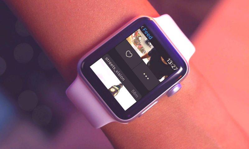 instagram apple watch
