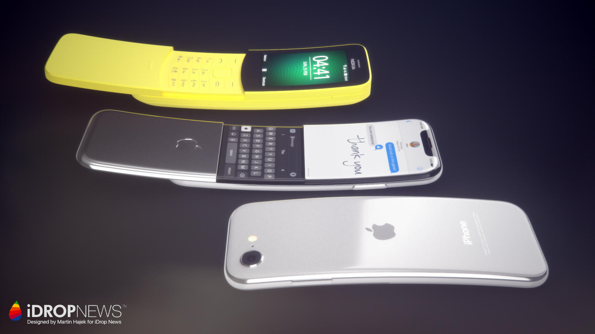 Curved iPhone Touchless Controls Back and Front