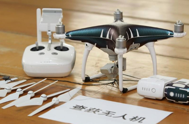 Chinese Customs Agents Break Up Drone-Using iPhone Smuggling Ring
