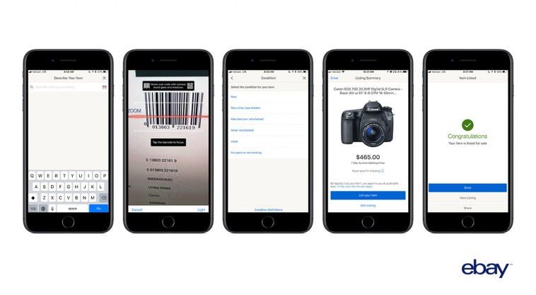 eBay iOS App Gains New Barcode Scanner Feature to Streamline Item Listing Process