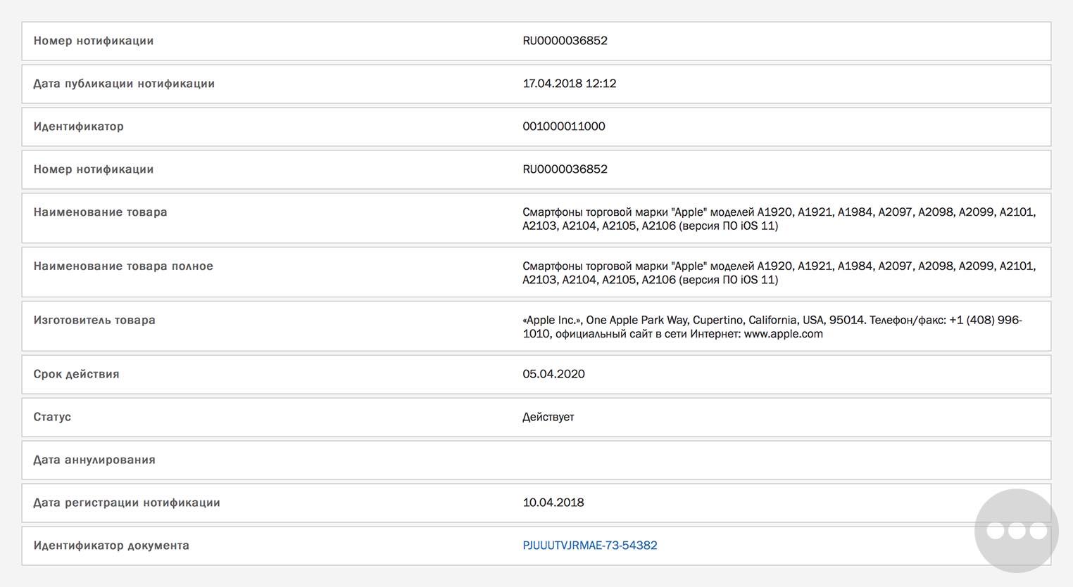 Apple Registers Several New iPhone Models in Eurasia